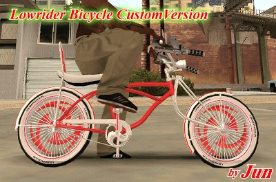 Lowrider Bicycle Custom Version