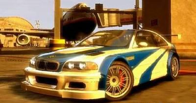 BMW M3 GTR Most Wanted